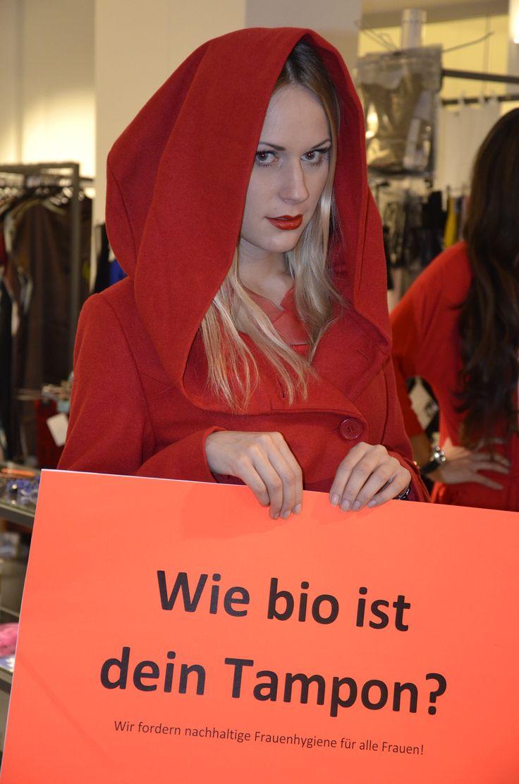 Wie bio ist dein Tampon?  www.erdbeerwoche.com  Nachhaltige Frauenhygiene