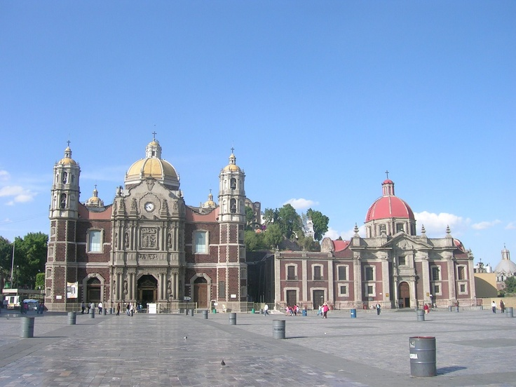 Basilica de Guadalupe - Mexico City, Mexico. One of the most beautiful churches I've ever seen!