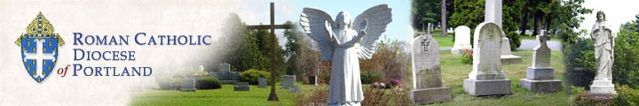Cemeteries of the Roman Catholic Diocese  Searchable database includes Mt. Pleasant Cemetery, Bangor, Maine