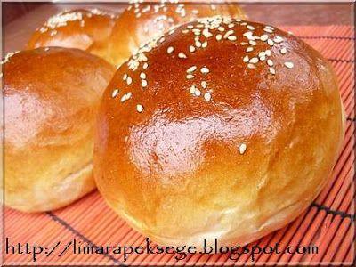 Limara péksége: Hamburgerzsemle -brioche