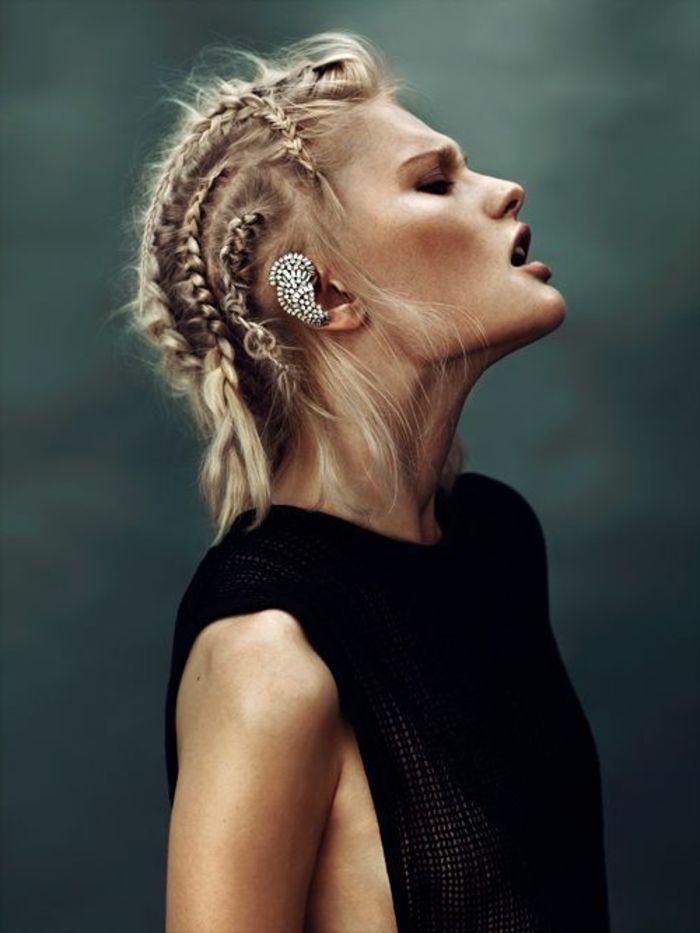 Bevorzugt Les 25 meilleures idées de la catégorie cheveux Lagertha sur  SI62