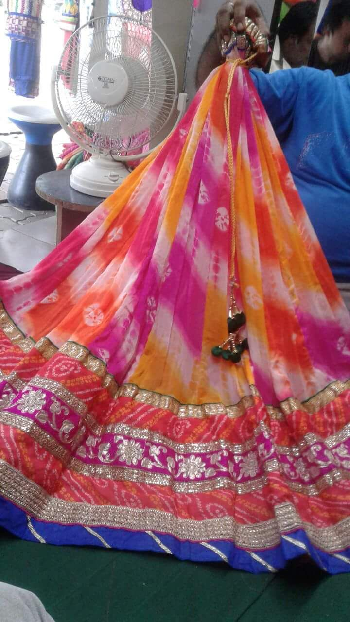 Latest Chaniya choli for Garba season 2016