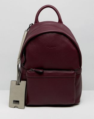 Ted Baker - Petit sac à dos en cuir