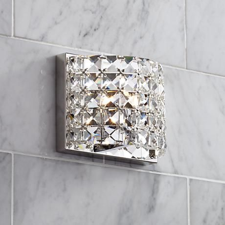 Best 25 crystal bathroom lighting ideas on pinterest bathroom best 25 crystal bathroom lighting ideas on pinterest bathroom flooring 3 mirrors over vanity and bathroom floor cabinets mozeypictures Choice Image