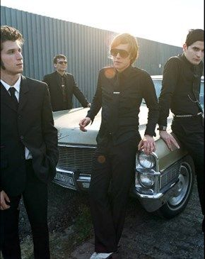 I Interpol is a Post-Punk band based in New York City, United States, that took an important part in the post-punk revival of the 2000s. The band consists of Paul Banks (vocals and guitar), Sam Fogarino (drums), and Daniel Kessler (guitar and backing vocals).  The band's sound is generally a mix of staccato bass and rhythmic, harmonized guitar, with a snare heavy mix, drawing comparisons to post-punk bands such as Joy Division and The Chameleons.