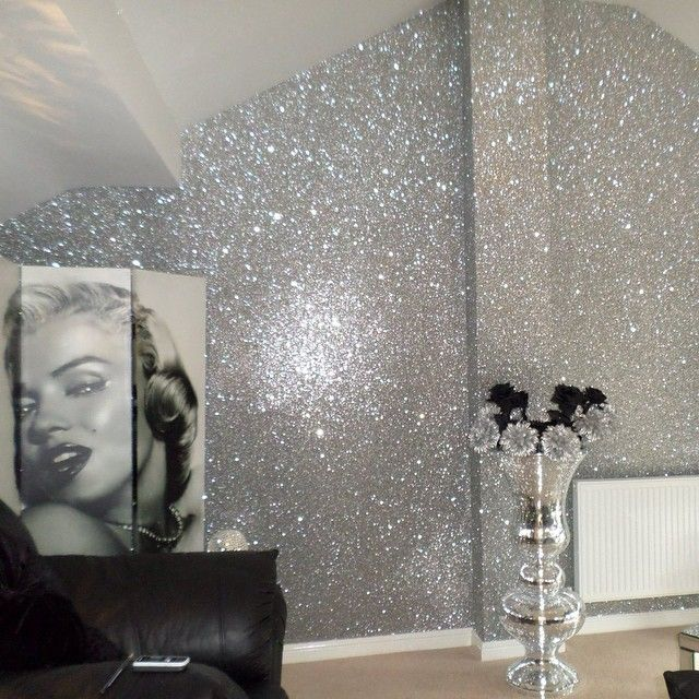 The Glittery World Of Silver Bedroom Ideas: 1314 Best Images About Glamour And Bling Home Decor On
