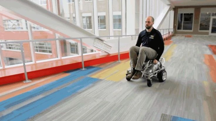 Most electric wheelchairs and mobility devices can easily shrug off a little rain, but on the whole, they really don't mix well with water. So engineers at the University of Pittsburgh designed a powered wheelchair that runs on compressed air, allowing those with limited mobility to safely enjoy a day at the water park. Every now and then, good things really do happen in this world.