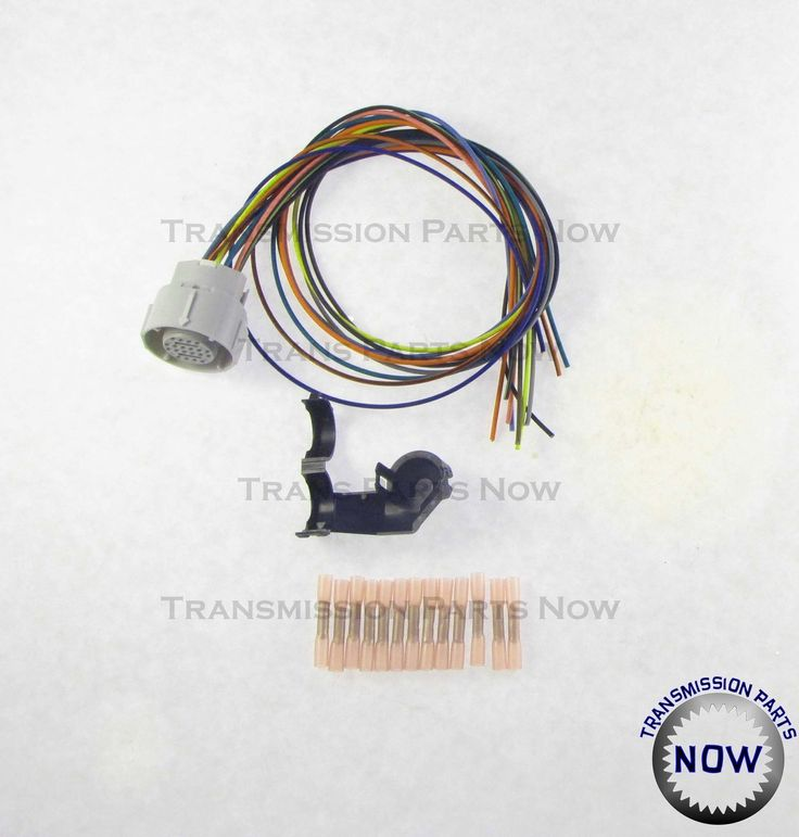 4L80E external wiring harness update kit, 34445EK Chevy