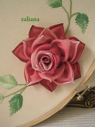 Rose by zaliana, via Flickr