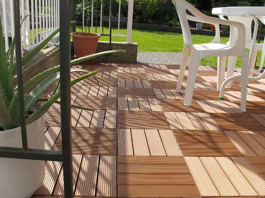 Personality Style Wpc Diy Patio Deck DIY Deck Features: Materials And  Products Rather Than Wood.