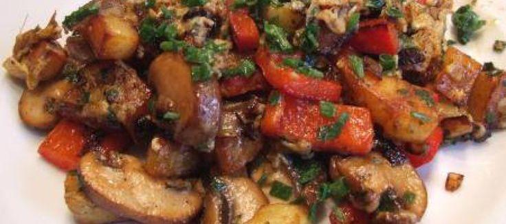 Heerlijke warme Mediterraanse aardappelsalade met veel smaak | Lekker Tafelen