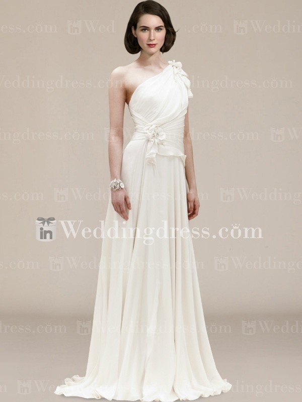 Informal second wedding dresses for Flowing beach wedding dresses
