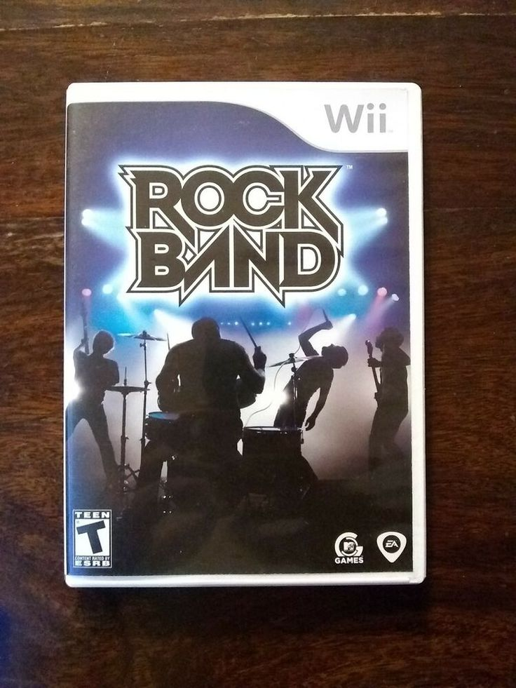 Nintendo Wii Rock Band VideoGames / MANUAL INCLUDED