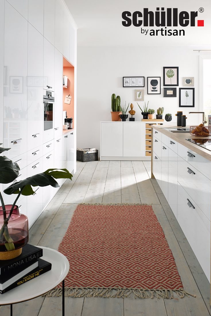 Charming Dream Gloss Kitchen Ideas. Schuller German Kitchens   Fino In Crystal White Home Design Ideas