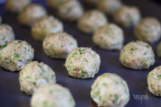 Southwest Turkey Meatballs with Creamy Cilantro Dipping Sauce | Recipe