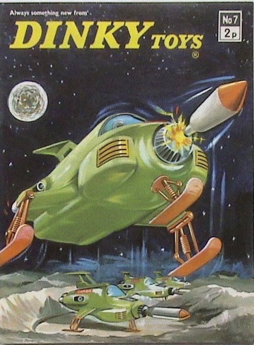 Dinky Toys - UFO, Moonbase Interceptor