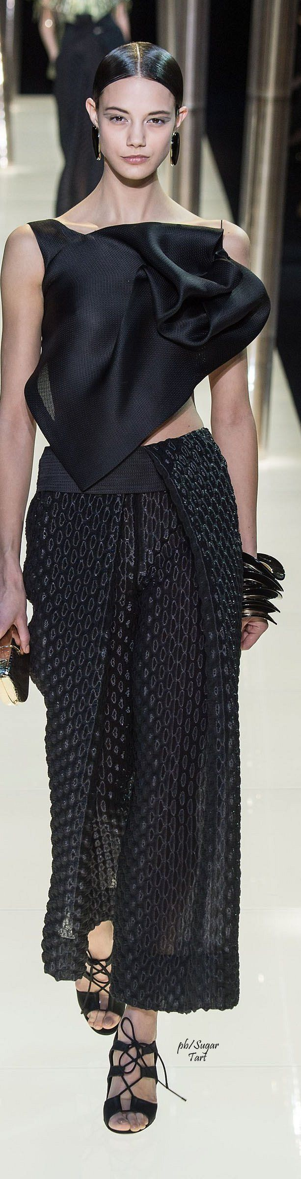 NW ♥ ♥ ♥ Nimrodt Wolfenstein Armani Prive S/S 2015 Couture