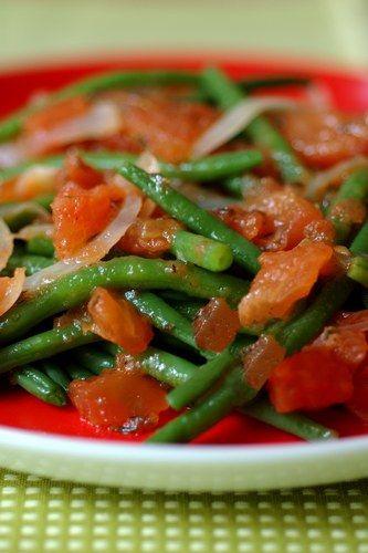 Haricots verts à la provençale : recette de haricots verts