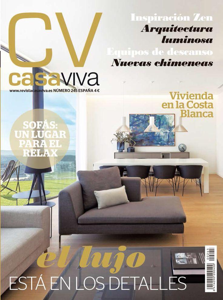"""Este mes de octubre salimos en la revista Casa Viva con nuestro proyecto """"Cocina abierta y funcional"""".  ¡Muchas gracias a Casa Viva por la publicación!"""