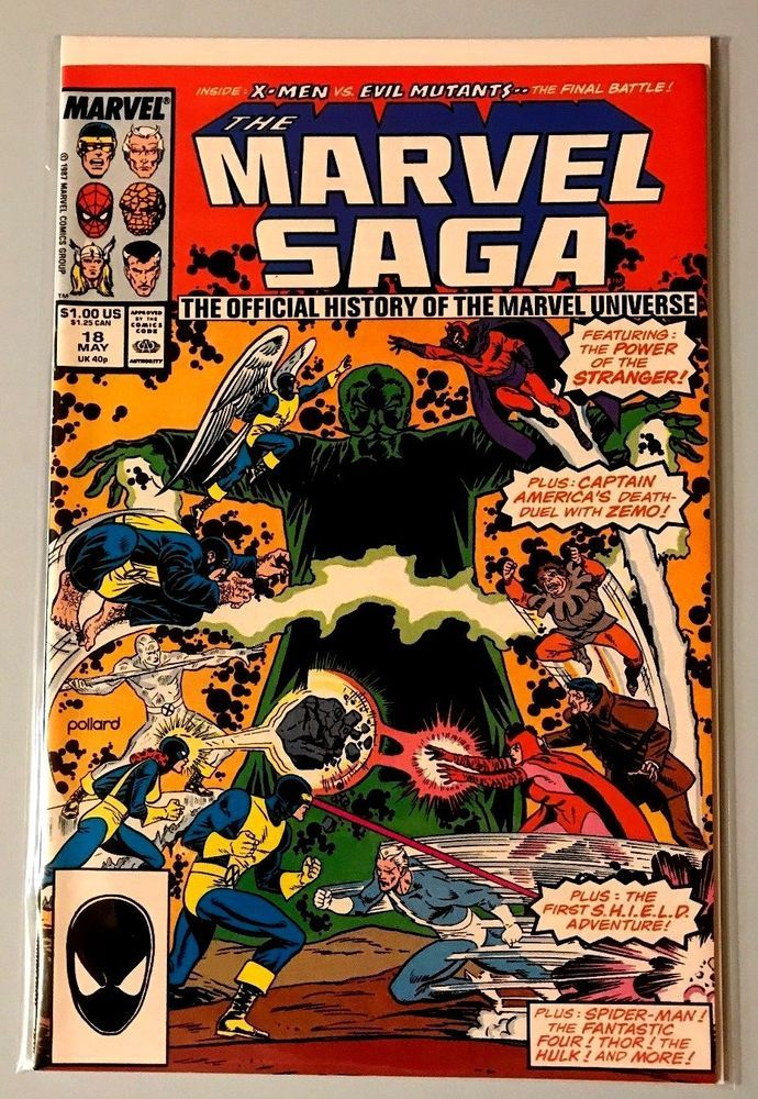 Marvel Comics:The Marvel Saga #18 VF/NM