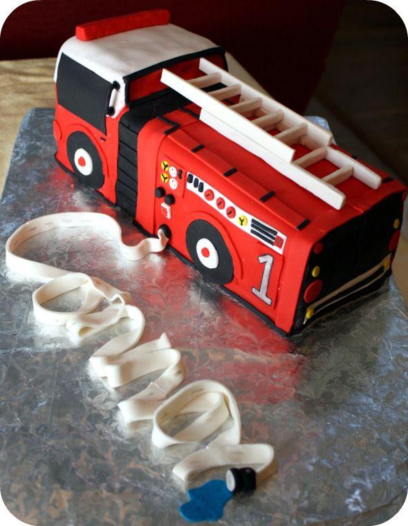 Dozen Flours: Fire Engine Cake