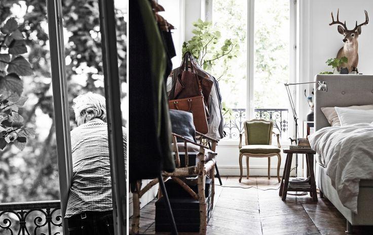 Diese Bilder wurden für das Buch IKEA MALM ‒ GUT VERSTAUT! TEIL 1. gemacht und zeigen das Pariser Zuhause des Einrichters Hans Blomquist. Er erklärt uns, wie Aufbewahrung zur Atmosphäre daheim beitragen kann.
