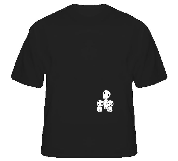 Kodama Forrest Spirit Princess Mononoke Anime T Shirt