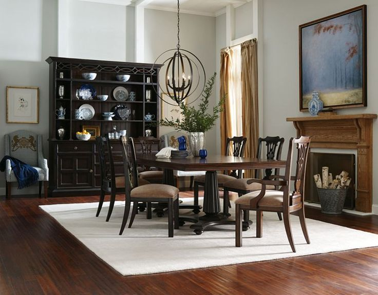 Shown Here Family Gathering Dublin Table In Bridle Finish Celtic Heart Arm Chair Side Boot Black