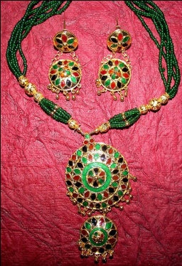 Indian Assamese Jewellery Japi Double by RamdhenuEmporium on Etsy, $91.00