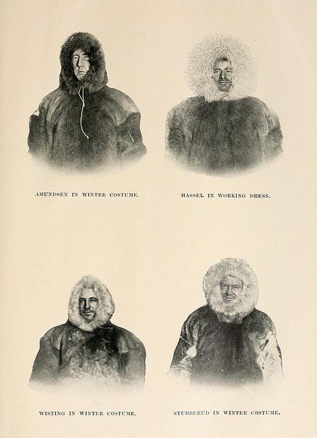 1910-1912, Roald Amundsen's South Pole Expedition