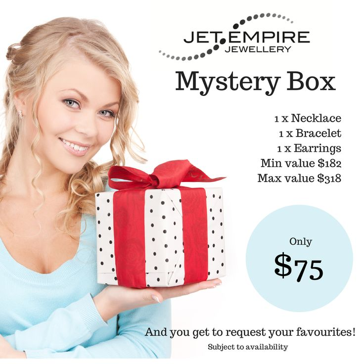A special Pinterest preview! Our Mystery Box offer is being released tomorrow but our Pinterest followers are invited to get in early tonight! http://www.jetempire.com.au/collections/mystery-box-picks/products/mystery-box