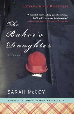 The Baker's Daughter by Sarah McCoy . . . just finished this book!!  Amazing book!!