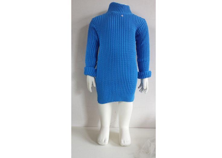 superhippe coltrui gebreide jurk basic meisjeskleding 1 tot 4 jaar uit een mieuwe oude voorraad meisjeskleding jongenstrui  col turtleneck door Smufje op Etsy