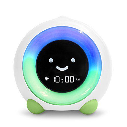 MELLA Ready to Rise Children's Sleep Trainer Alarm Clock Night Light and Sleep Sounds Machine (Kickstarter Green)