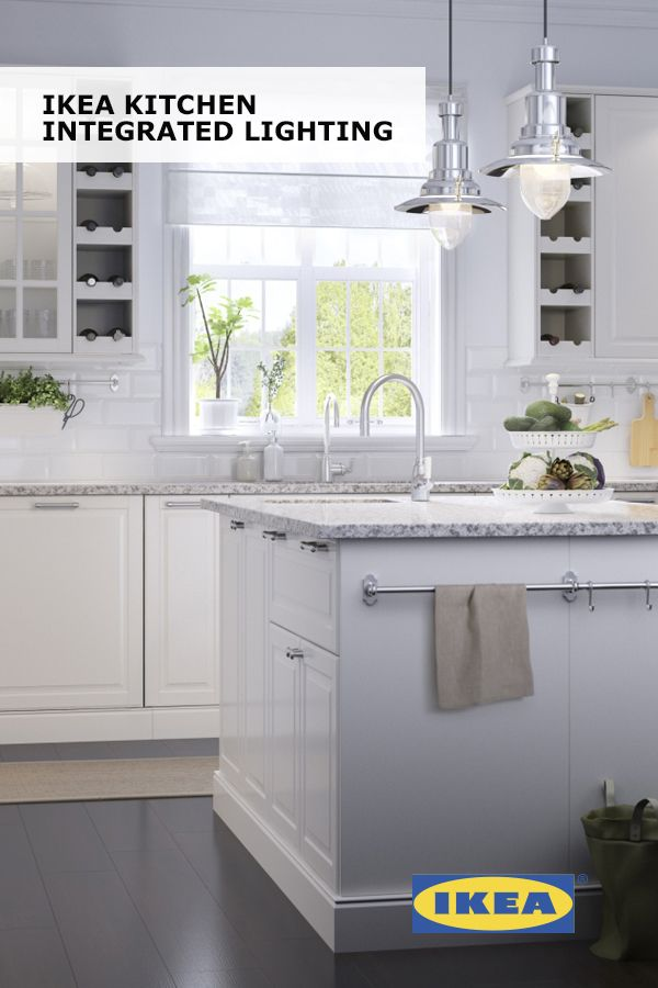 Whether you dream of bright, white cabinets, dark, muted cabinets or  something in between, get inspired by IKEA SEKTION kitchen styles and ideas.