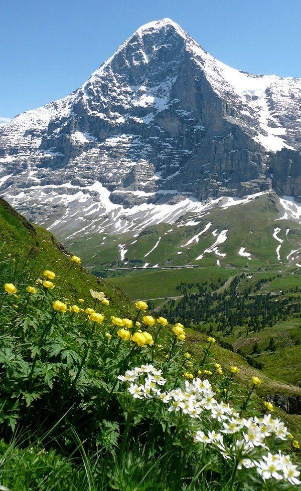The Eiger, Berner Oberland, Switzerland