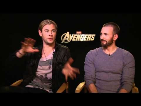 THE AVENGERS Exclusive Interviews with Cast: Chris Hemsworth, Chris Evans, Scarlett Johansson & More