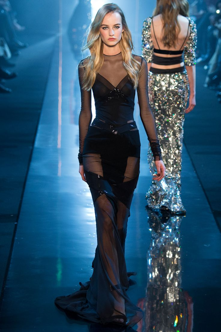 Alexandre Vauthier Spring 2015 Couture - with Maartje Verhoef model (Women) - Collection - Gallery - Style.com