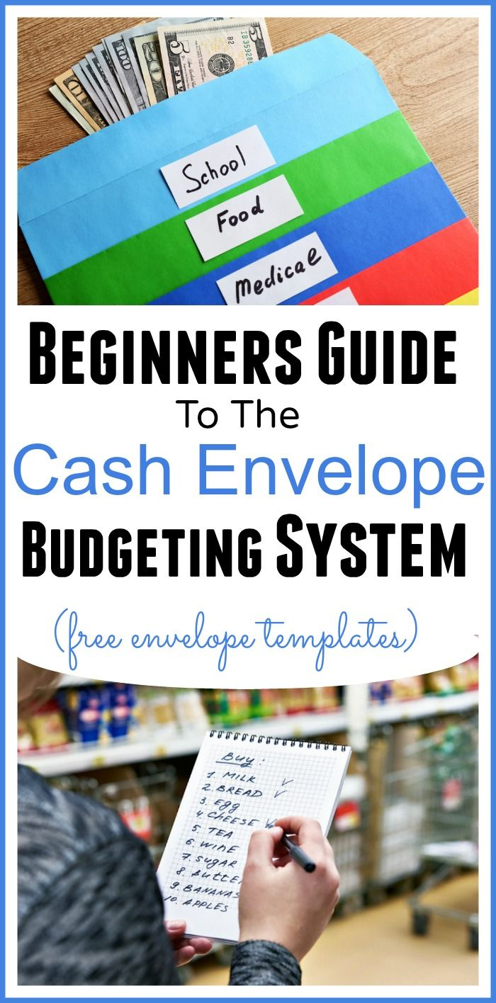 Beginners Guide Cash Envelope System Of Budgeting