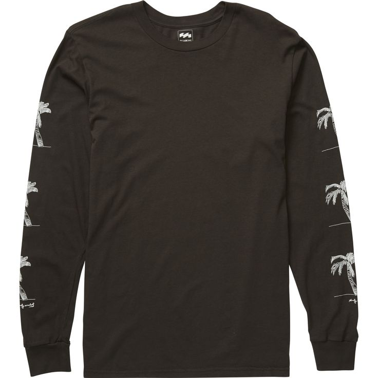 """Sport a different shade of black with a pop art tee from icon Andy Warhol. Part of the premium, limited edition Billabong """"LAB"""" collection, this long sl..."""