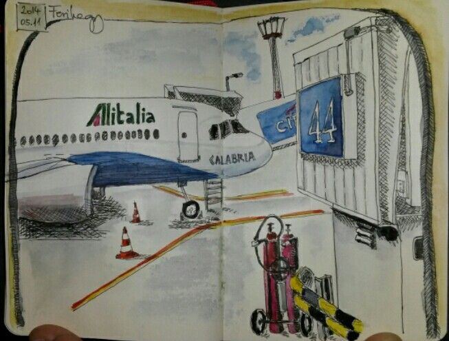 Departure #sketches