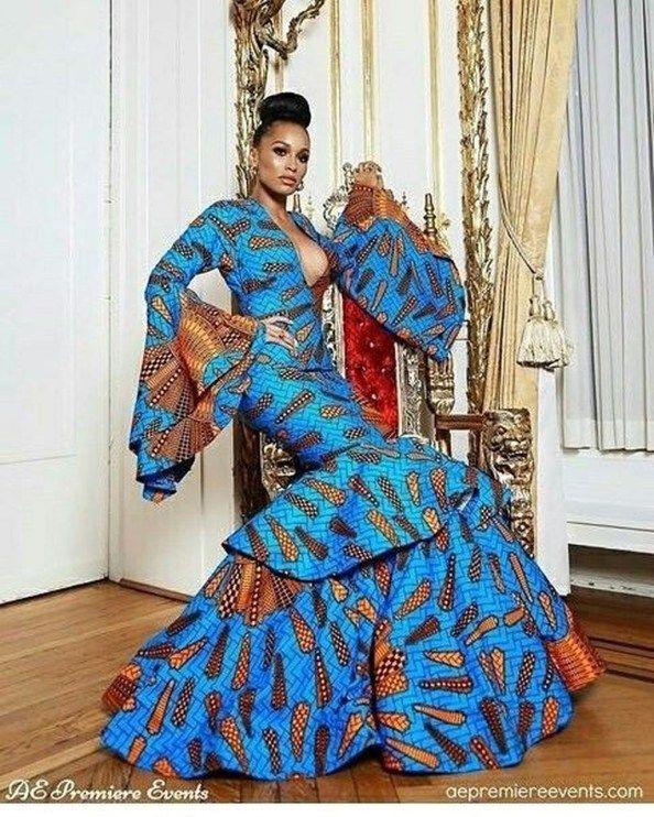 Modern African Dresses Styles 201709