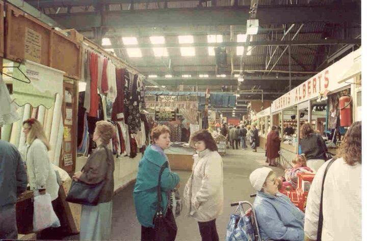 Old Widnes market