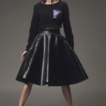 Maciej Sieradzky's skirt. He was second in 1st Polish Project Runway #anjarubik