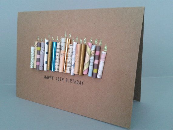 Ber ideen zu 18th birthday cards auf pinterest for Pinterest geburtstagskarte
