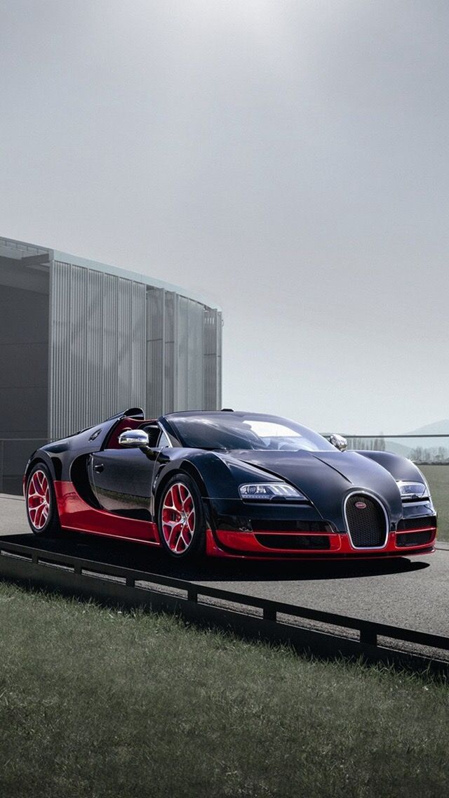 Bugatti 2012 EB Veyron 16.4 Grand Sport Vitesse Black+red