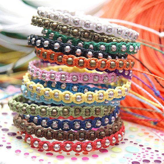 friendship bracelets, diy, hand made, macrame bracelets