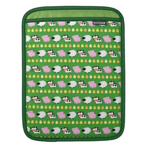 Farm Animals iPad Sleeve