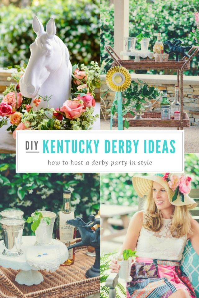 Host your own Kentucky Derby party with these entertaining and decorating tips!