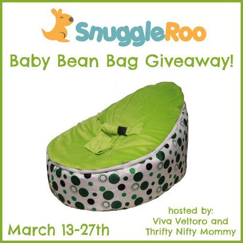 Win A SnuggleRoo Baby Bean Bag Ends 3 27